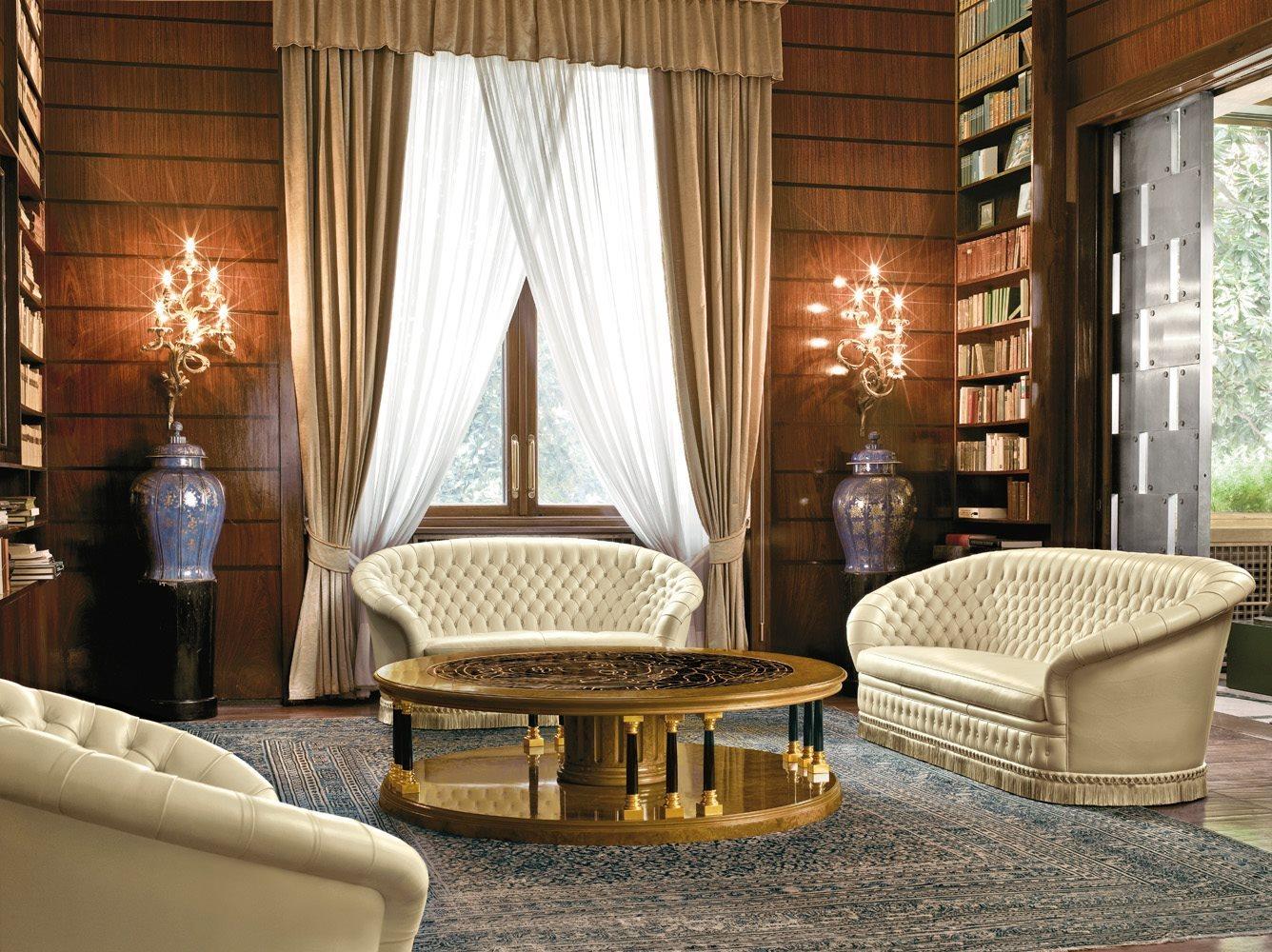 Tavolo dorotheum round table mascheroni - Tavoli e tavolini ...